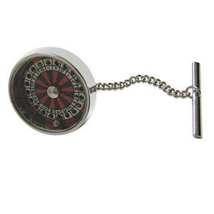 Roulette Pendant Tie Tack